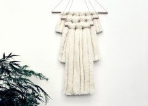 White wall hanging from Nannie Inez