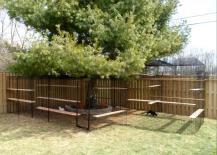 Zen Outdoor Cat Enclosure in Backyard