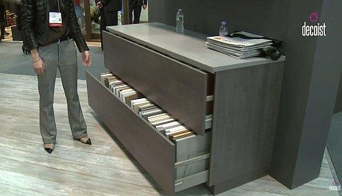 bauformat mechanized cabinets have sleek design sustain. Black Bedroom Furniture Sets. Home Design Ideas