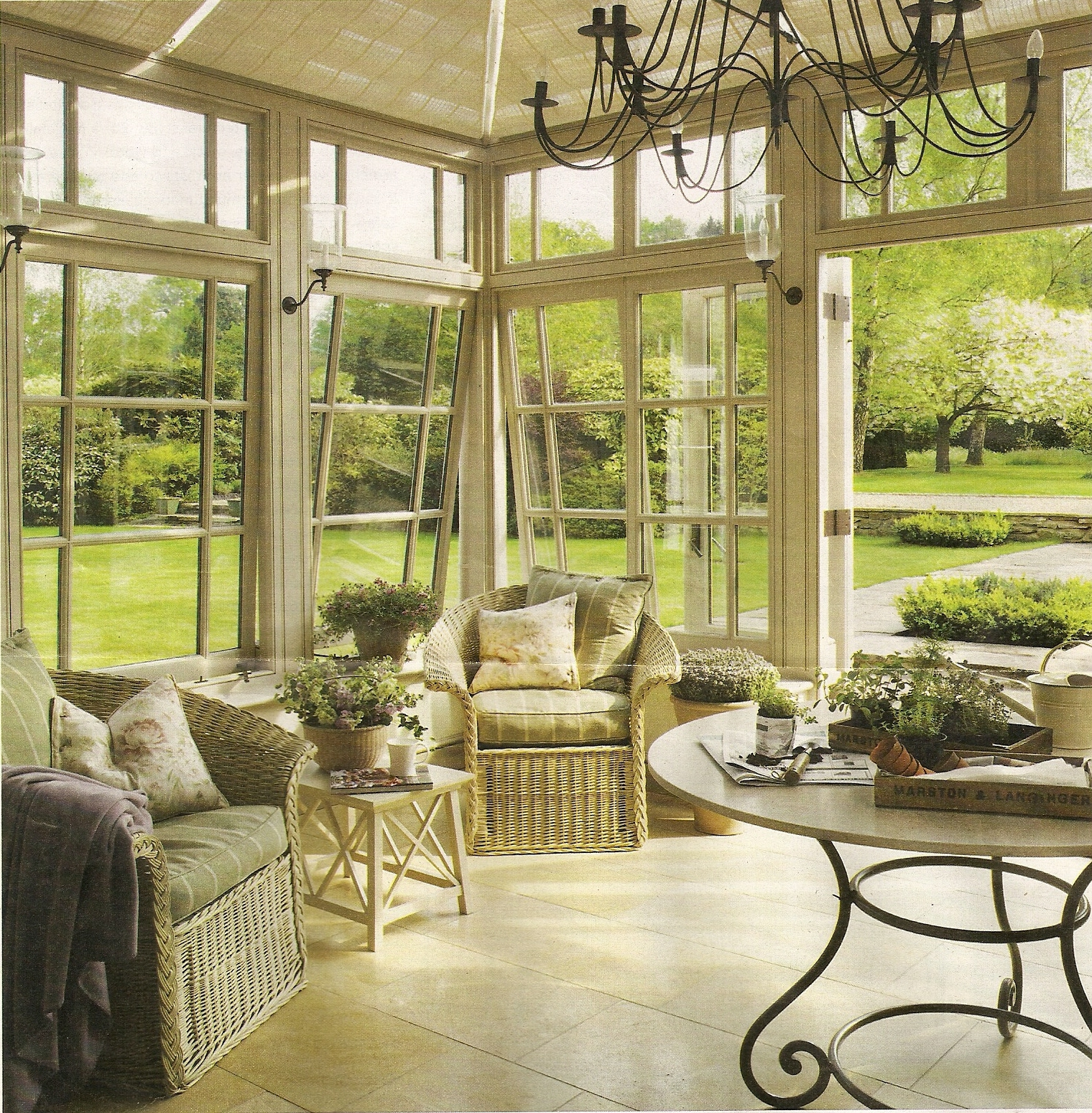 landscape sunroom
