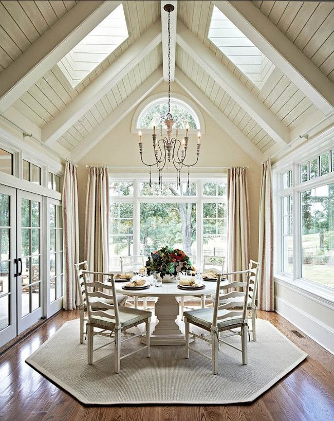 think a sunroom has to be big this design from pin home ideas proves