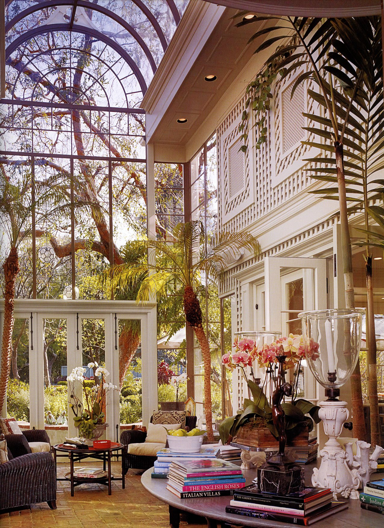 sunroom trees