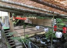 A Kawadoko Restaurant in Kibune