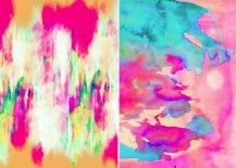 Abstract art by Amy Sia via Society 6 217x155 Design Trend: Abstract Art and Decor