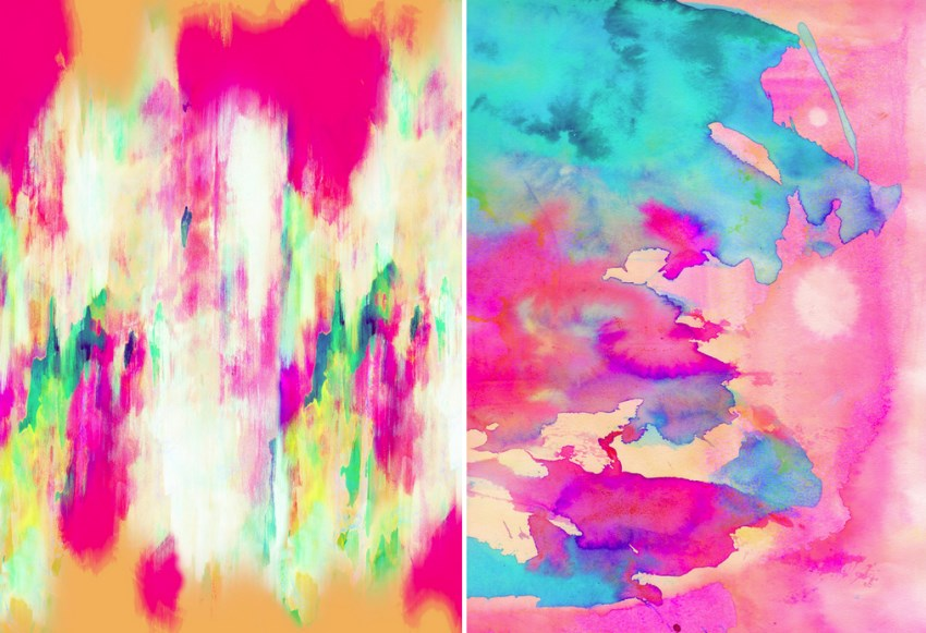 Abstract art by Amy Sia via Society 6