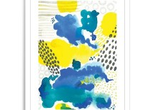 Abstract artwork from Minted for West Elm