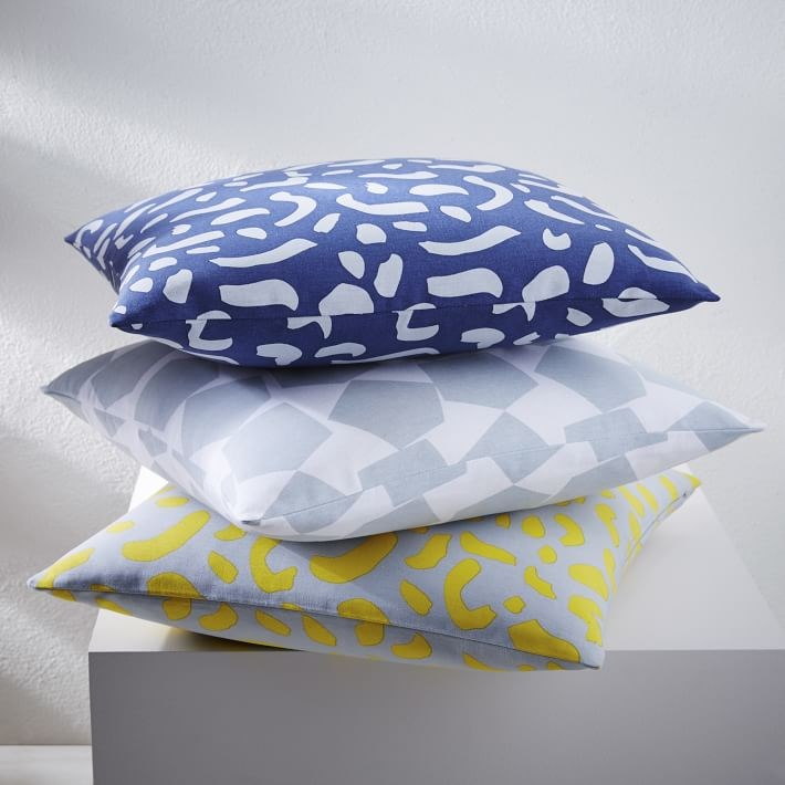 Abstract pillow covers from West Elm