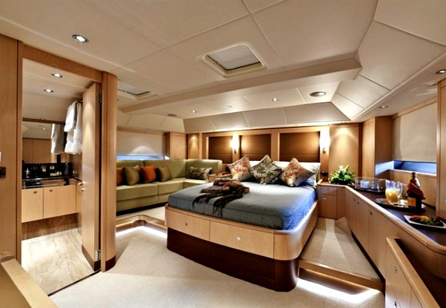 View In Gallery Subtle Lighting Is Important In A Yacht Interior