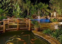 Arched-Japanese-style-bridges-look-great-even-in-contemporary-backyards-217x155
