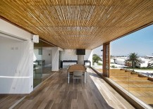 Bamboo brings a chic, natural appeal to the contemporary home