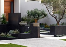 Beautifully designed entry filled with interesting plants 217x155 Creating a Seamless Flow Between Home and Garden