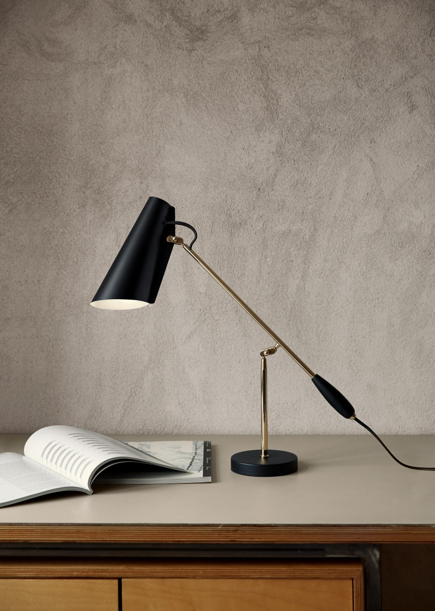 Birdy Table Lamp in black
