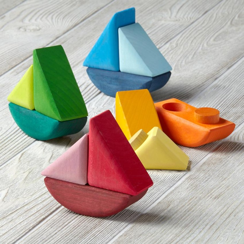 Boat blocks from The Land of Nod