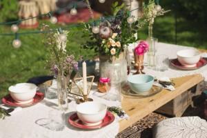Bohemian picnic idea
