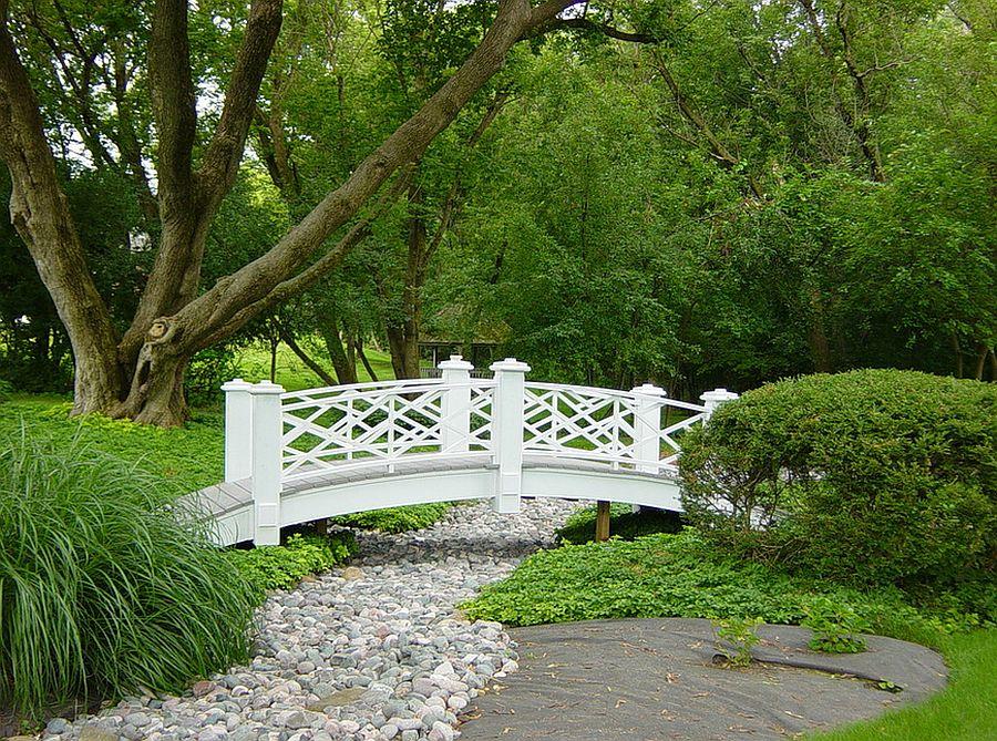 Bring home some Parisian charm with a classy garden bridge [Design: Paquet's Restorations]
