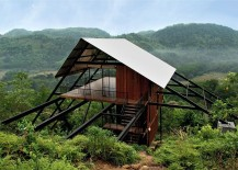 Beautiful Sri Lankan cabin surrounded by natural beauty