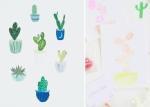Cactus art makes the perfect party backdrop 217x155 Summer Party Ideas for a Festive Season