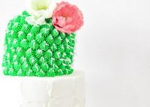 Cactus cake from Proper