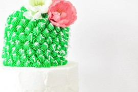 Cactus cake from Proper  Summer Party Ideas for a Festive Season Cactus cake from Proper