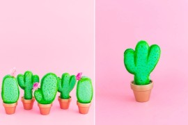 Cactus macarons from Sugar & Cloth  Summer Party Ideas for a Festive Season Cactus macarons from Sugar Cloth