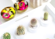 Cactus party favors from Studio DIY