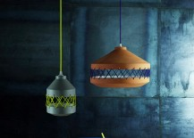 Ceramic and cotton pendant lamp by Incipit Lab 217x155 Modern Home Decor and Furniture from Crowdy House