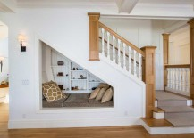 ... On How To Transform The Space Under Your Staircase, Read On For Some Of  Our Favorite Examples, From A Spotlight Stealing Wet Bar To A Cozy Pet  Retreat.