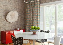 Chic-industrial-pendant-with-a-wiry-frame-in-the-contemporary-dining-room-217x155