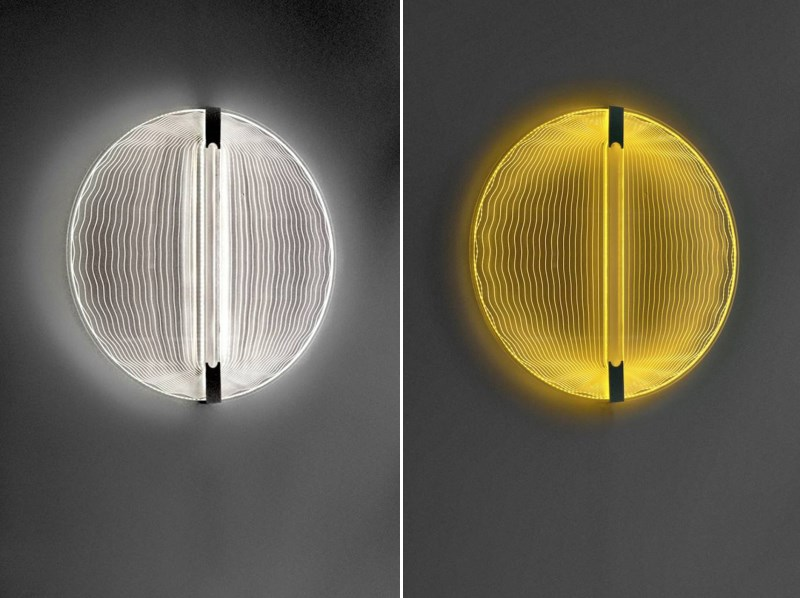 Circadian wall lamp from Transnatural Art & Design label