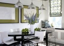 Clemson Classic Pendant combines traditional and industrial elements [Design: Jessica Lagrange Interiors]