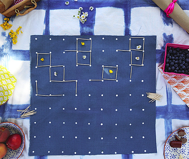 Cloth picnic games from Say Yes