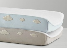 Cloud changing pad covers from Restoration Hardware