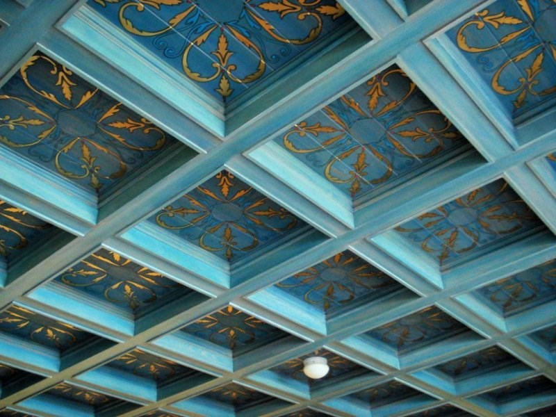 Add personality to your interior with a coffered ceiling for Coffered ceiling styles