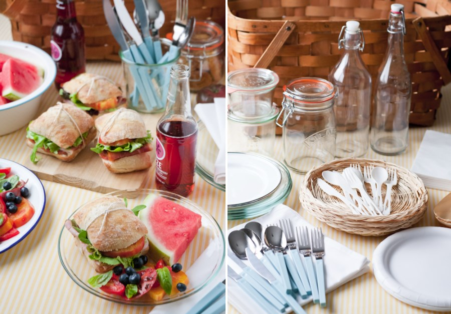 Colorful and practical picnic ideas from Design Mom