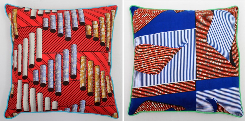 Colorful cushions from Darkroom
