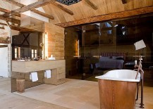 Contemporary-and-rustic-styles-meet-inside-this-Austrian-bathroom-217x155