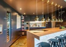 Copper-pendants-add-metallic-glint-to-the-contemporary-kitchen-217x155
