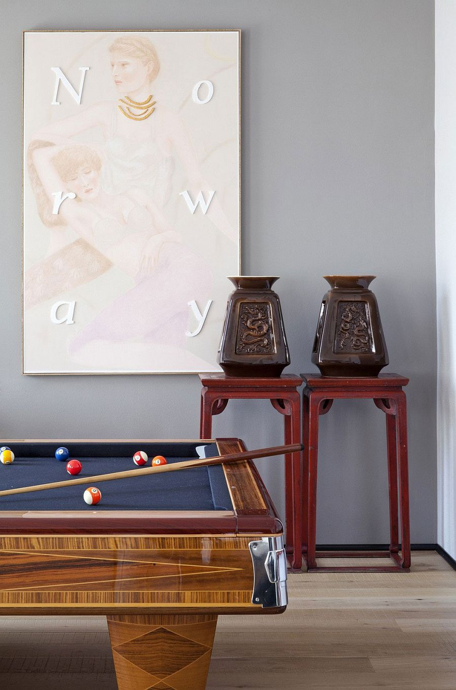 Craft a fun family zone with a pool table