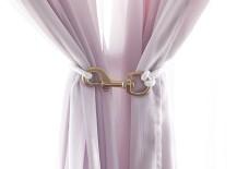 Curtain tie back DIY from Blackbird