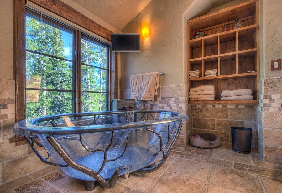 Custom tub designed by Suzanne Allen