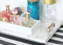 DIY marble tray from Fashionlush