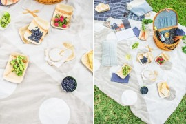 DIY picnic blanket from Paper & Stitch  Picnic Ideas: Style Tips for a Relaxed Outdoor Meal DIY picnic blanket from Paper Stitch 270x180