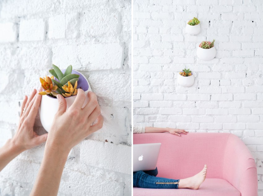 DIY plant pockets from Design Love Fest