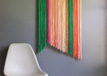 DIY yarn art from Oleander and Palm