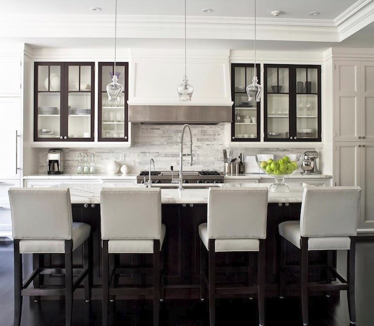 10 Unique Painting Ideas Featuring Black Trim on kitchen paint colors with dark cabinets, kitchen shelves instead of cabinets, flush inset cabinets,