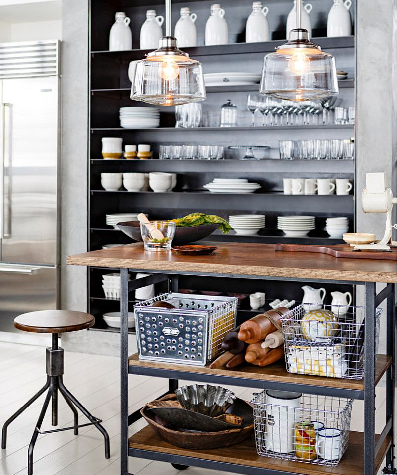 Decorating your industrial kitchen in style with the right accessories [From: Rejuvenation Lighting]