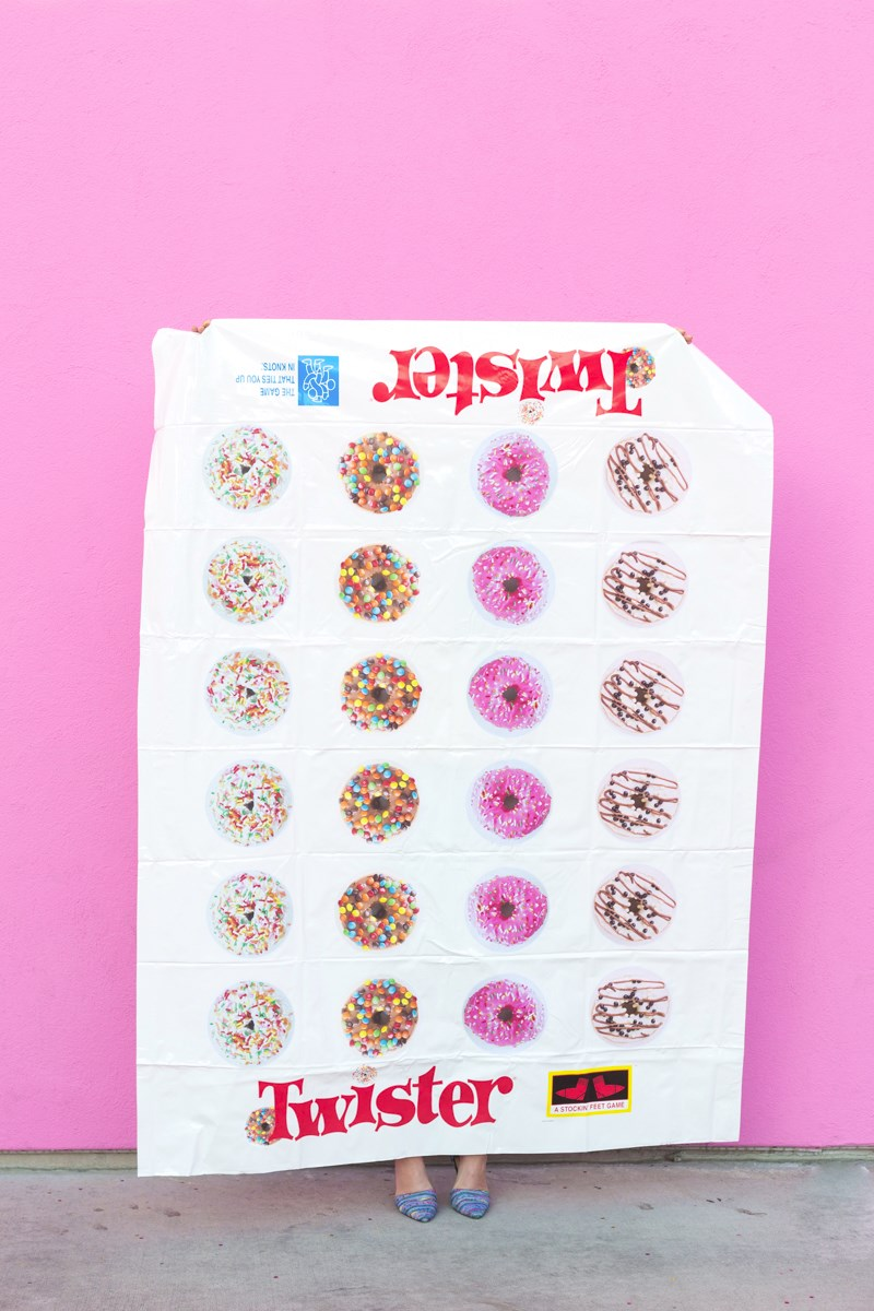 Donut twister from Studio DIY  Summer Party Ideas for a Festive Season Donut twister from Studio DIY