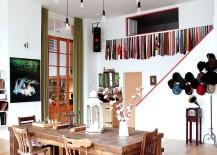 Drop Cap Pendant Set in the spacious dining room [Design: Avocado Sweets Interior Design Studio]