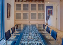 Eclectic-dining-room-design-with-a-splash-of-blue-and-a-unique-dining-table-217x155
