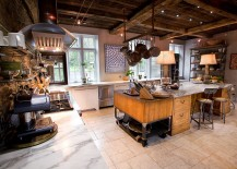 Eclectic-farm-home-with-vintage-industrial-kitchen-217x155